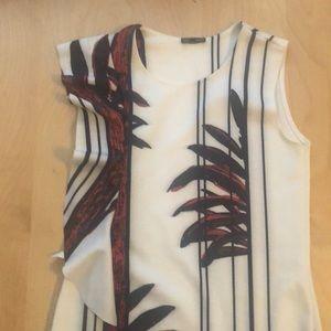 Zara tropical mini dress